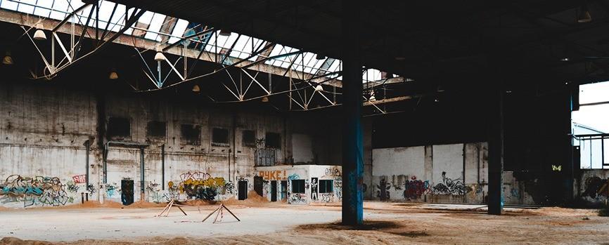 Заброшенный зал