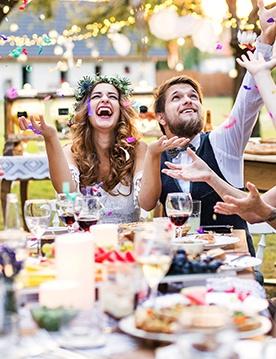Свадьба летом: какой формат праздника выбрать
