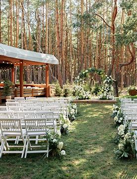 Лучшие локации для празднования свадьбы